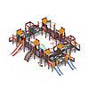 Детский игровой комплекс «Замок» ДИК 2.18.11-01 H=1200 H=900, фото 4