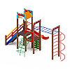 Детский игровой комплекс «Замок» ДИК 2.18.03-01 H=1500, фото 3