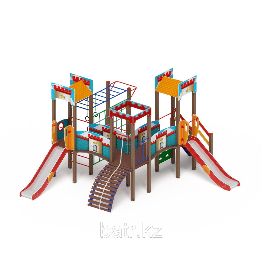 Детский игровой комплекс «Замок» ДИК 2.18.02-01 H=1200