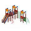 Детский игровой комплекс «Замок» ДИК 2.18.05-01 H=1500, фото 3