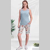 Пижама женская 3 XL/54-56, Голубой