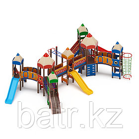 Детский игровой комплекс «Карандаши» ДИК 2.26.07 Н=1200