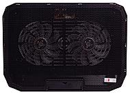 """Охлаждающая подставка для ноутбука X-Game X6, 15,6"""", USB 2.0*2, Чёрный"""