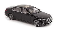 Модель 1/18 Mercedes-Benz S-class 2021 AMG-line W223 черный