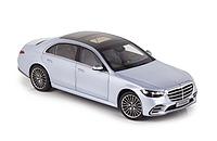 Модель 1/18 Mercedes-Benz S-class 2021 AMG-line W223 серебристый