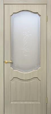 Полотно Омис дверное Прима КР пленка ПВХ 800*2000*34 дуб Беленый