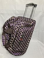 Компактная дорожная сумка на колесах, для ручной клади., фото 1