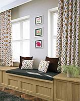 Ткань со скандинавским принтом и тефлоновой пропиткой для скатертей, фартуков, подушек, штор,обивки