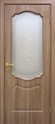 Полотно Омис дверное Прима КР пленка ПВХ 800*2000*34 дуб золотой