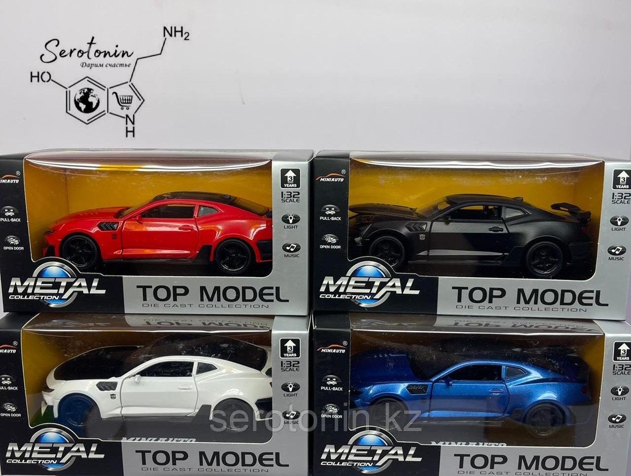 Коллекционные машинки Top Model