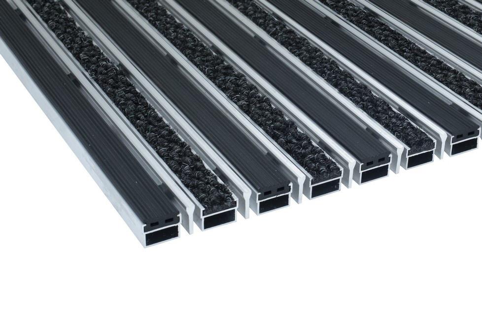 Грязезащитная алюминиевая решетка