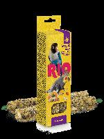 Палочки для средних попугаев с медом и орехами, RIO, 2х75гр.