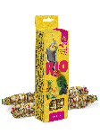 Палочки для средних попугаев с тропическими фруктами, RIO, 2х75гр.
