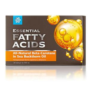 Натуральный бета-каротин и облепиха - Essential Fatty Acids