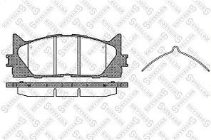 Колодки Stellox 002 007-SX передние Toyota Camry (V40) 06>, RAV 4 III (A3) 05>