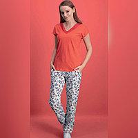 Пижама женская S/42-44, Красный