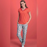 Пижама женская XL/46-48, Красный