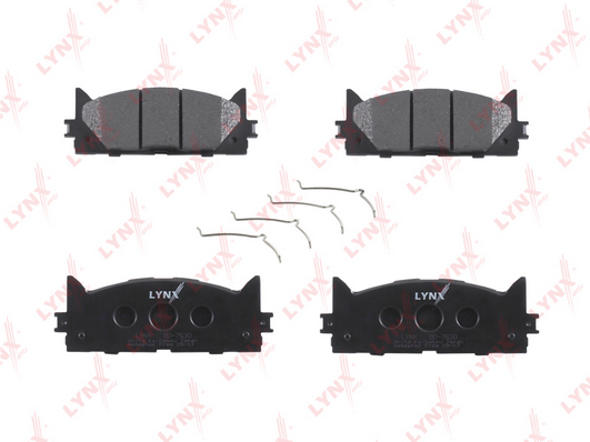 Колодки LYNXauto BD-7530 передние Toyota Camry(V40) 06>, Rav 4 06>