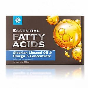 Сибирский лен и омега-3 - Essential Fatty Acids