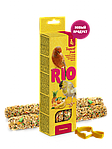 Палочки для канареек с тропическими фруктами, RIO, 2х40гр.