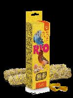 Палочки для для всех видов птиц с яйцом и ракушечником, RIO, 2х40гр.