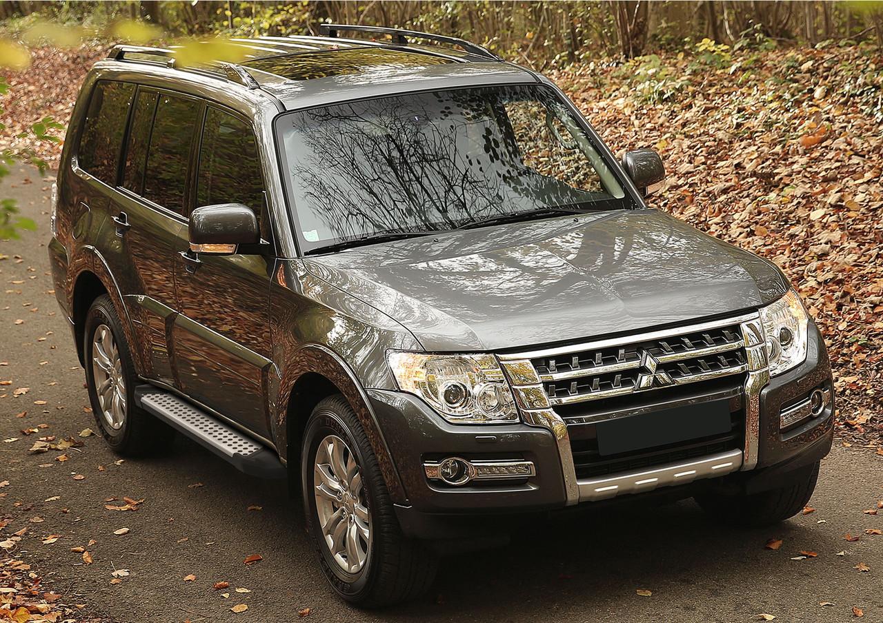 "Пороги ""Bmw-Style"" Mitsubishi Pajero IV (2006-2014)"