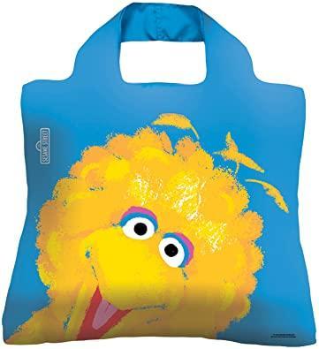 Женская модная сумочка авоська.Sesame Street Bag 3 ( Big bird ). Envirosax
