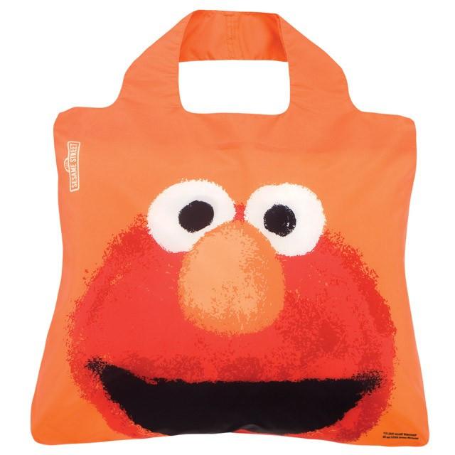 Женская модная сумочка авоська.Sesame Street Bag 3 .Elmo. Envirosax