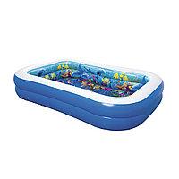Детский надувной игровой бассейн Undersea Adventure 262 х 175 х 51 см, Bestway, 54177