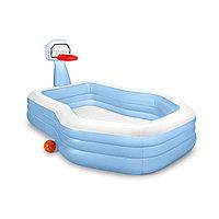 Детский надувной игровой бассейн Семейный, 257 х 188 х 135 см, , 57183NP Intex