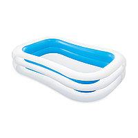 Детский надувной бассейн Swim Center Family 262 х 175 х 56 см, Intex, 56483NP