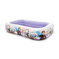 Детский надувной бассейн Disney Frozen (Холодное сердце) 262 х 175 х 56 см Intex 58469NP