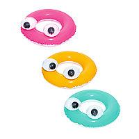 Надувной круг для плавания Big Eyes 61 см, Bestway 36114