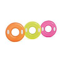 Надувной круг для плавания, Hi-Gloss 76 см, Intex 59258NP