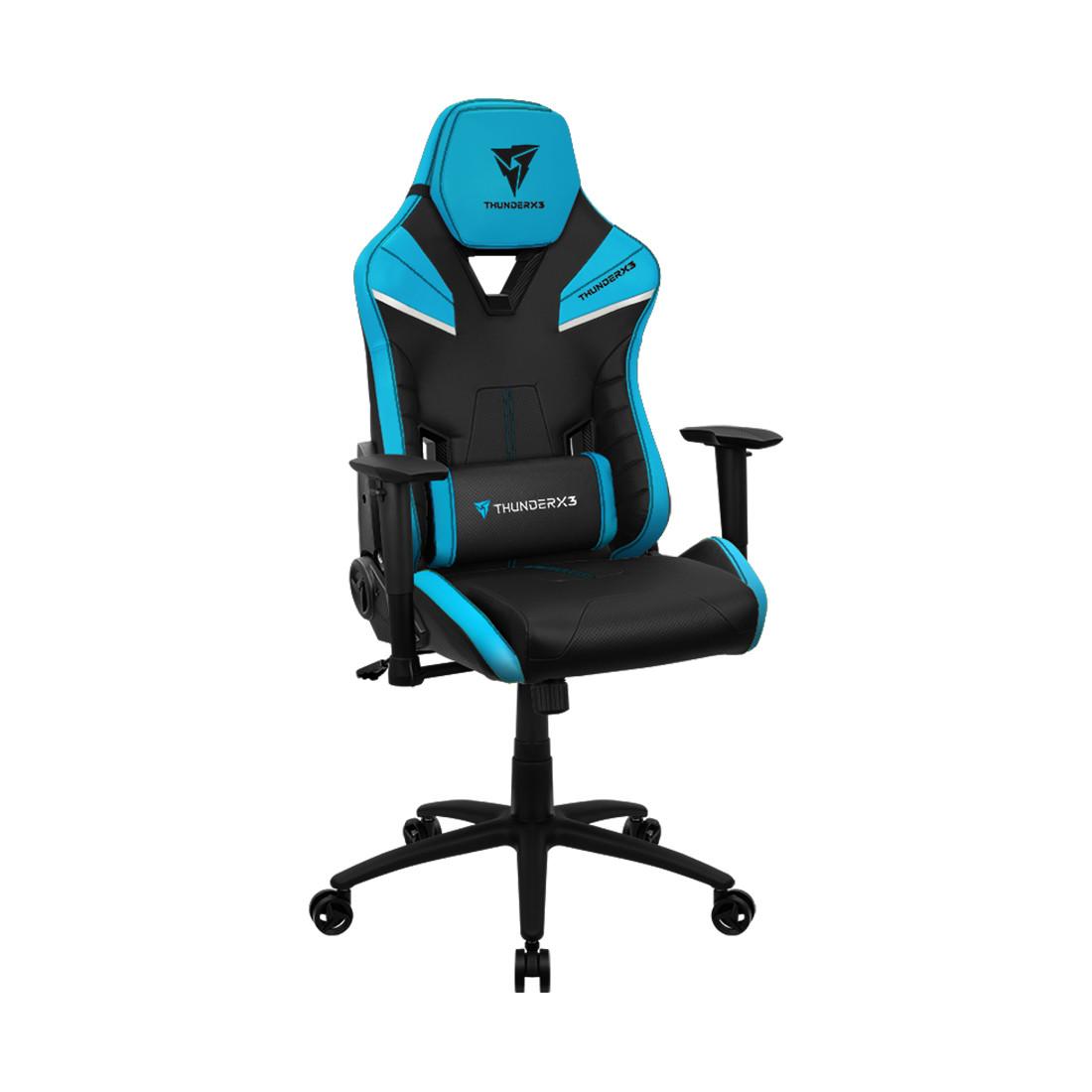 Игровое компьютерное кресло ThunderX3 TC5-Azure Blue - фото 1