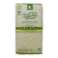 Органический белый рис Жасмин Healthy Grain 1кг