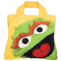 Женская модная сумочка авоська.Sesame Street Bag 3 ( Oscar ). Envirosax