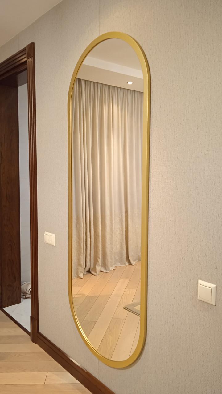 Капсульное зеркало в деревянной раме ARGO, 30мм, 1862x717мм