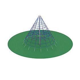 Пирамида (на резиновое покрытие) СК 2.05.02-РК (сетка)