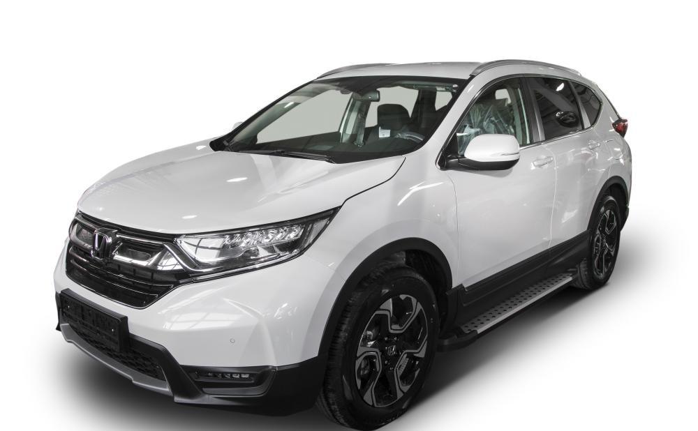 "Пороги ""Bmw-Style""  Honda CR-V, 5-е поколение  (2017-)"
