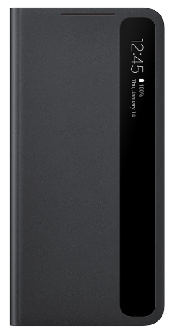 Чехол для Samsung Galaxy S21 Plus Smart Clear View Cover EF-ZG996CBEGRU, black - фото 1
