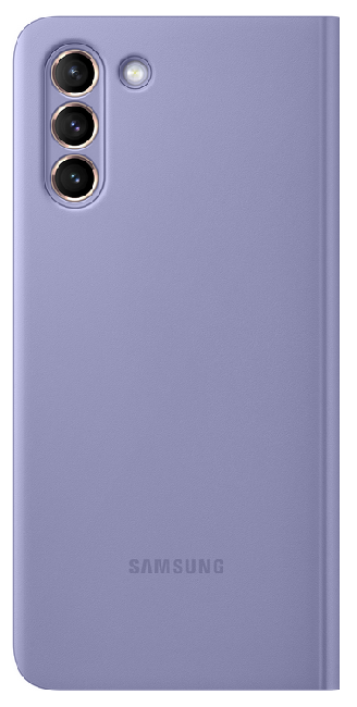 Чехол для Samsung Galaxy S21 Plus Smart Clear View Cover EF-ZG996CVEGRU, violet - фото 4