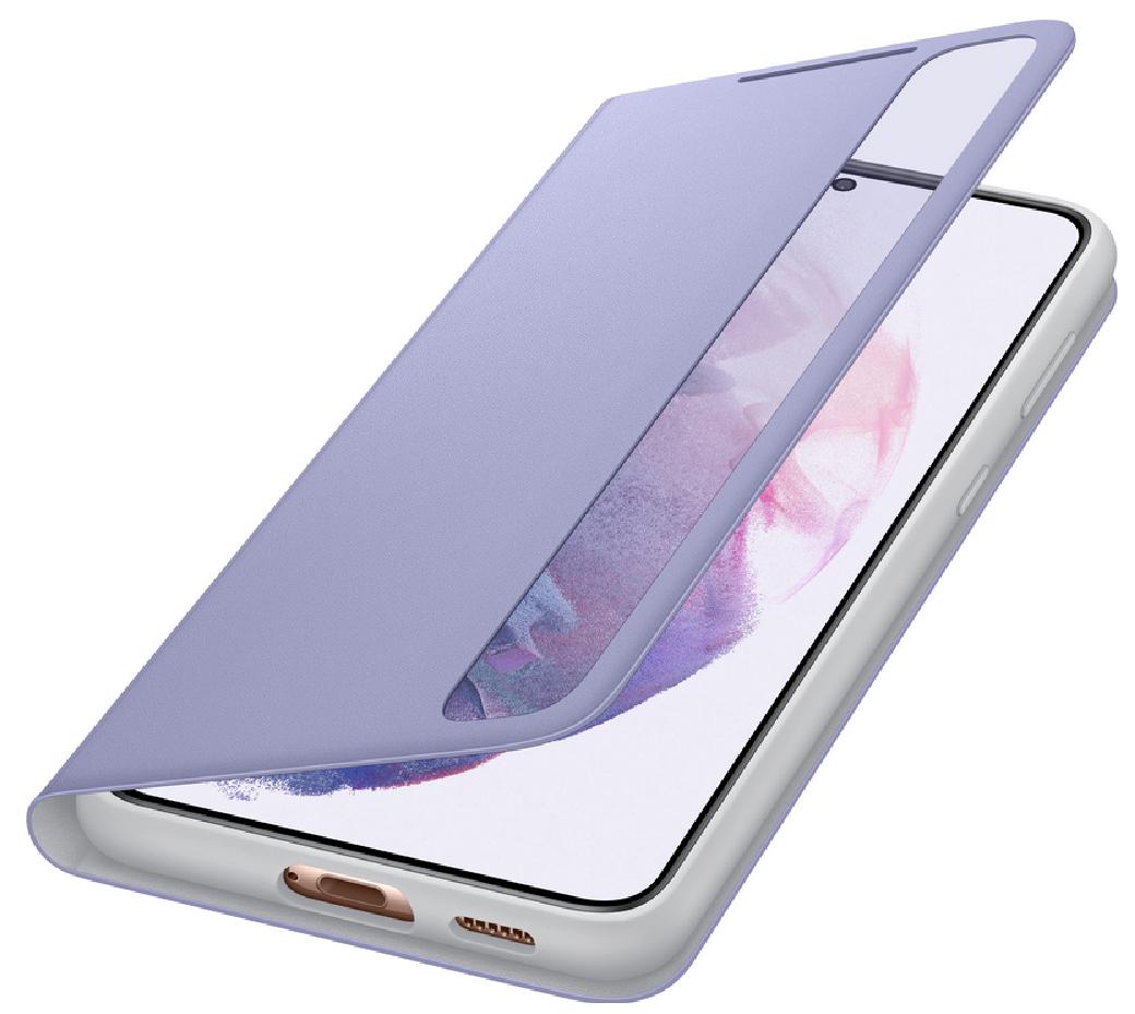 Чехол для Samsung Galaxy S21 Plus Smart Clear View Cover EF-ZG996CVEGRU, violet - фото 3