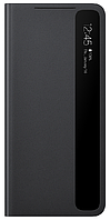 Чехол для Samsung Galaxy S21 Ultra Smart Clear View Cover EF-ZG998CBEGRU, black