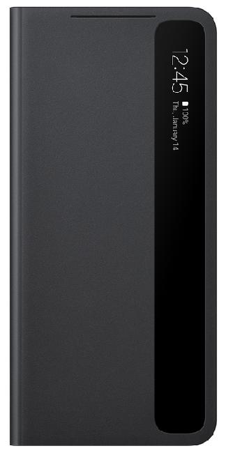 Чехол для Samsung Galaxy S21 Smart Clear View Cover EF-ZG991CBEGRU, black - фото 1