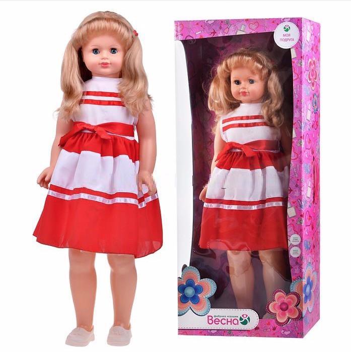 Кукла Снежана интерактивная ходит и говорит 83см, Весна - фото 1