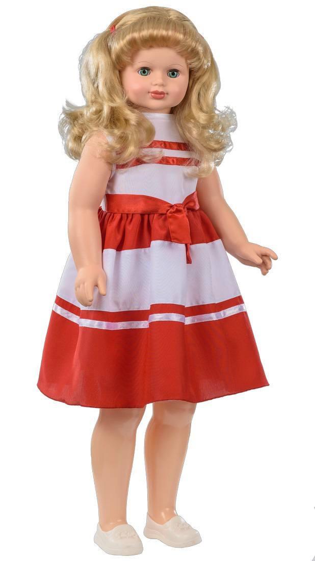 Кукла Снежана интерактивная ходит и говорит 83см, Весна - фото 2