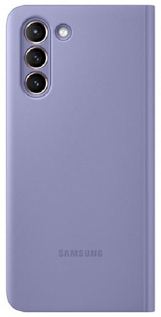 Чехол для Samsung Galaxy S21 Smart Clear View Cover EF-ZG991CVEGRU, violet - фото 2
