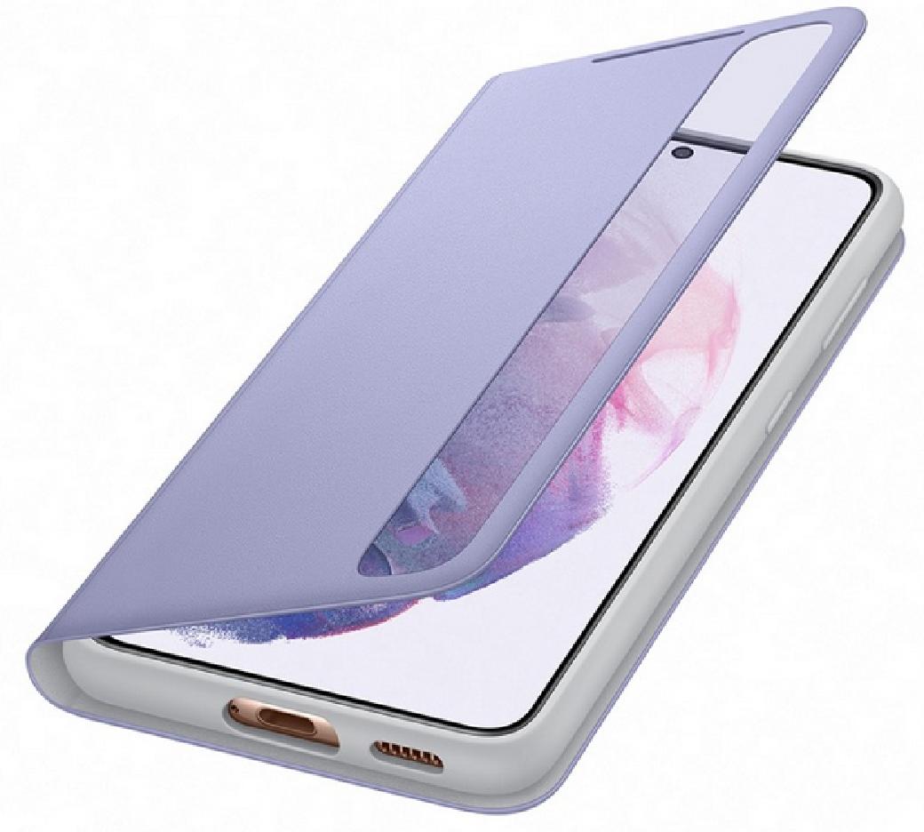 Чехол для Samsung Galaxy S21 Smart Clear View Cover EF-ZG991CVEGRU, violet - фото 4