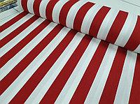 Ткань с принтом полосы и тефлоновой пропиткой для скатертей, фартуков, подушек, штор,обивки